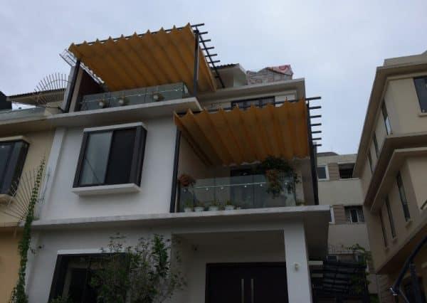 Mái Xếp Di Động Chung Cư