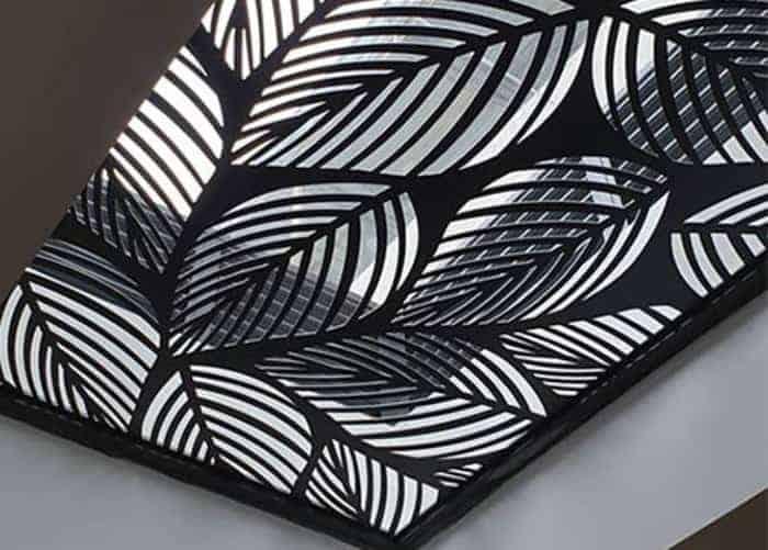 Sản phẩm mái che cắt khắc laze độc đáo